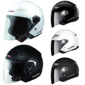 View Item LS2 OF569 Track Open Face Motorcycle Helmet
